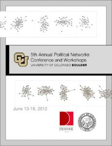 June 13-16, 2012 - Political Networks