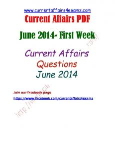 June 1st Week Current Affairs.pdf