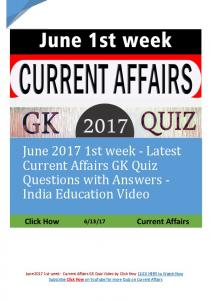 June 2017 1st week Current GK Quiz.pdf
