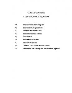 K Policies - Gen. Public Relations - Adopted 10-19-04.pdf  ...
