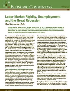 Labor Market Rigidity, Unemployment, and the Great Recession
