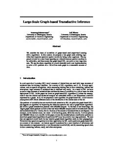Large-Scale Graph-based Transductive Inference - Semantic Scholar