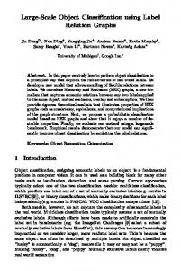 Large-Scale Object Classification using Label ... - EECS @ Michigan