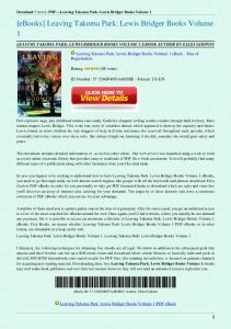Leaving-Takoma-Park-Lewis-Bridger-Books-Volume-1.pdf  ...