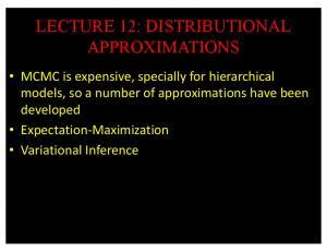 lecture 12: distributional approximations - GitHub