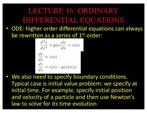 lecture 16: ordinary differential equations - GitHub