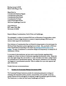 Letter to Elk Grove Council, re Policing Commission.pdf