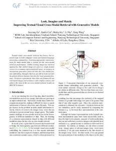 Look, Imagine and Match: Improving Textual ... - CVF Open Access