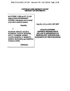 Lusk Response to Defendants Motion for Judgment on the Pleadings.pdf
