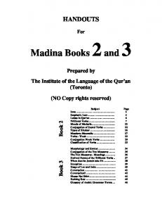 Madina Books 2and 3 - Learn Arabic
