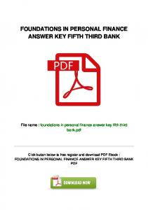 man-109\foundations-in-personal-finance-answer-key-fifth-third ...