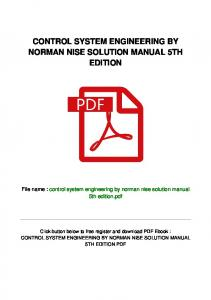 man-52\control-system-engineering-by-norman-nise-solution ...