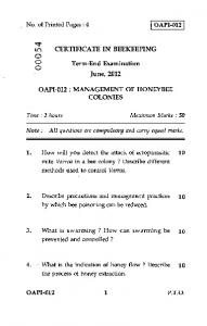 Management of Honey Bee Colonies.pdf