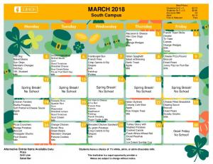March 2018 - South Campus Lunch.pdf