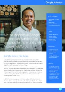 Matoa Indonesia: Bringing Indonesian handcrafted ...  Services