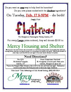 Mercy Housing and Shelter -