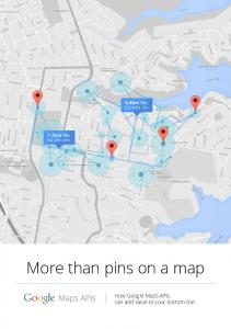 More than pins on a map  services