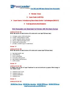 New 640-916 Exam Dumps with PDF and VCE Download.pdf ...