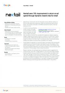 Nextail sees 19% improvement in return on ad ...  Services