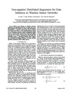 Non-negative Distributed Regression for Data Inference ...