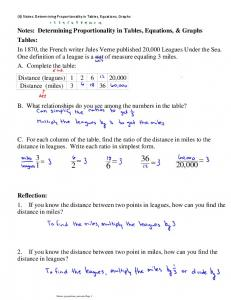 Notes Determining Proportionality in Tables, Equations, Graphs.pdf ...