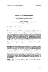 Notes on Practical Reasoning - COGENCY | Journal of Reasoning ...