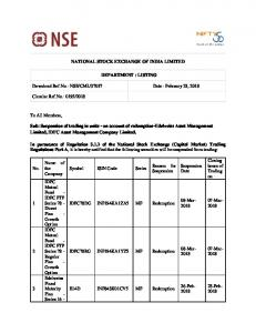 NSE/CML/37037 Date : February 23, 2018 Circular
