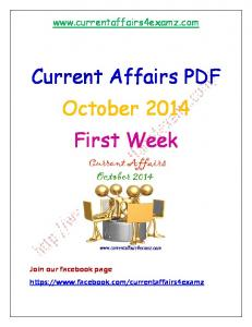 October 2014 first week Current Affairs.pdf