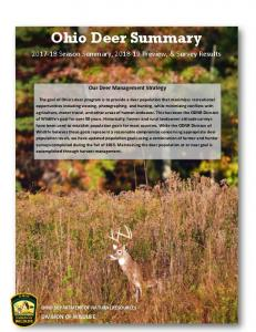Ohio Deer Summary - ODNR Division of Wildlife - Ohio Department of ...