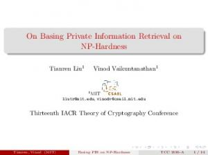 On Basing Private Information Retrieval on NP-Hardness