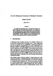 On the Birational Geometry of Schubert Varieties
