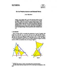 On the Procircumcenter and Related Points