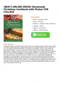 ONLINE EBOOK Homemade Christmas Cookbook with Photos FOR ...