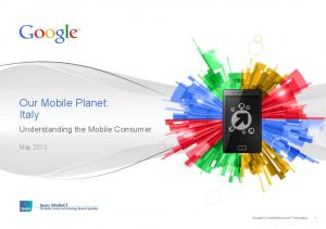 Our Mobile Planet: Italy  Services