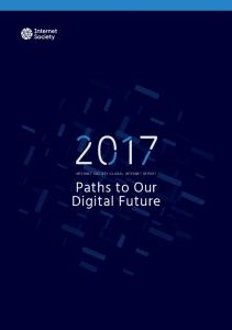 Paths to Our Digital Future Report