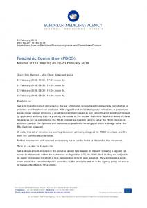 PDCO minutes of the 20-23 February 2018 meeting