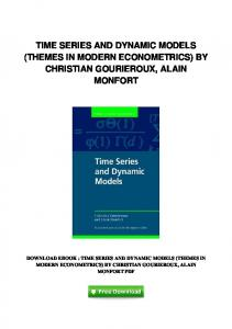 pdf-0699\time-series-and-dynamic-models-themes-in-modern ...