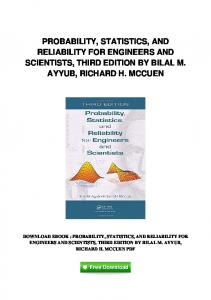 pdf-106\probability-statistics-and-reliability-for-engineers-and ...