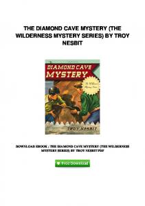 pdf-16125\the-diamond-cave-mystery-the-wilderness-mystery-series ...