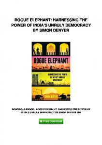 pdf-1684\rogue-elephant-harnessing-the-power-of-indias-unruly ...