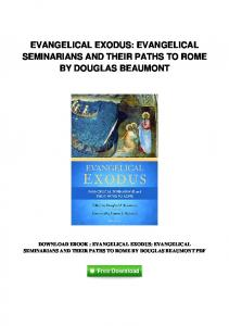 pdf-1790\evangelical-exodus-evangelical-seminarians-and-their ...