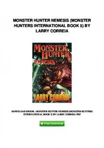 pdf-1871\monster-hunter-nemesis-monster-hunters-international ...