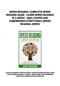 pdf-1938\speed-reading-complete-speed-reading-guide-learn ...