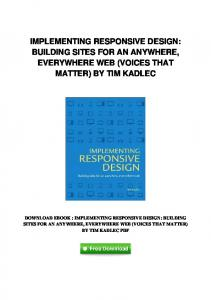 pdf-2178\implementing-responsive-design-building-sites-for-an ...