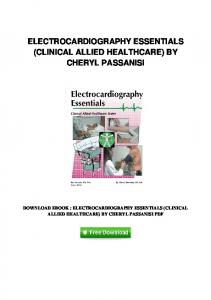 pdf-33\electrocardiography-essentials-clinical-allied-healthcare-by ...