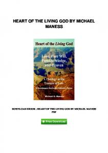 pdf-81\heart-of-the-living-god-by-michael-maness.pdf