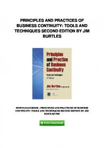 pdf-82\principles-and-practices-of-business-continuity-tools-and ...