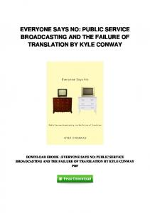 pdf-84\everyone-says-no-public-service-broadcasting-and-the ...