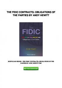 pdf-93\the-fidic-contracts-obligations-of-the-parties ...