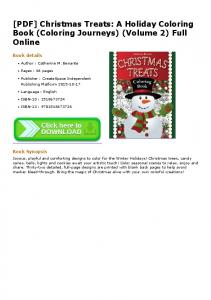 [PDF] Christmas Treats: A Holiday Coloring Book